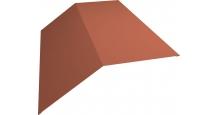 Коньки для кровли из металлочерепицы в Туле Планка конька 190х190