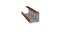 Доборные элементы (Блок-хаус/ЭкоБрус) Grand Line в Туле Планка угла внутреннего составная нижняя