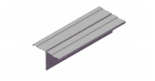 Фасадные профили GrandLine в Туле Профиль вертикальный Т-образный
